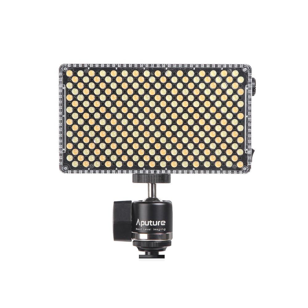 Aputure Amaran AL-F7 Couleur Température 3200-9500 K CRI/TLCI 95 + Led Panneau Plus Polyvalent Sur-caméra LED lumière pour caméra