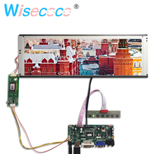 цена на DVI VGA LCD Controller Board with 14.9 inch LTA149B780F 1280x390 20pin 2CCFL Backlight LCD panel