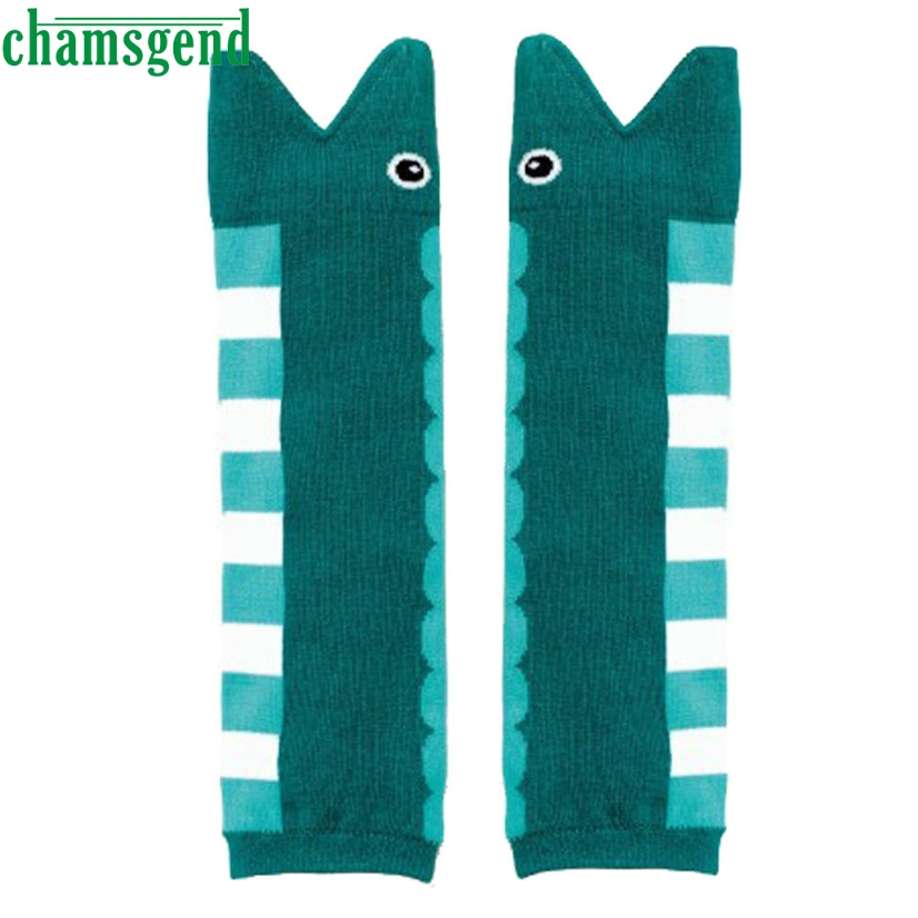 CHAMSGEND Drop ship baby socls socks kids Kids Girl Pair Cartoon Cotton Leg Warmers Socks For Baby Child Knee Pads Feb7 S30
