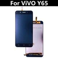 Test edildi! Için vivo Y65 LCD ekran + dokunmatik ekran + araçları Digitizer meclisi yedek aksesuarlar için vivo Y65 5.5
