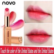 NOVO Hydra Colorful Lipstick Gradually Salty New Fashion Shampoo Lips Bleeding B