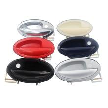 4 шт./компл. 6 цветов для Lifan 520 Хром Внешний дверные ручки Обложки 520i Breez аксессуары хорошее качество металла наклейки стайлинга автомобилей
