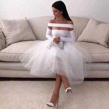Sexy Elegant Women Gala Party Dress Plus Size Arabic Muslim White Long Sleeve Short Evening Prom Dresses Gown 2019 цена