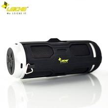 Leicke Bas Bluetooth Hoparlör Almanya Marka Su Geçirmez Bisiklet protable Açık FM Radyo Handsfree Çağrı Dahili Mikrofon Hoparlör