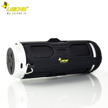 Leicke Bass Bluetooth Speaker Germany Brand Waterproof Bicycle protable Outdoor FM Radio Handsfree Call Built-in Mic Speaker