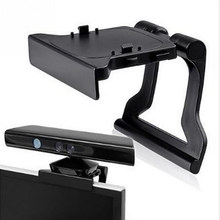 Adjustable TV Monitor Clip Mount Clamp Foldable Braket for Microsoft Xbox 360 Xbox360 Kinect Sensor Camera Stand Holder(China)