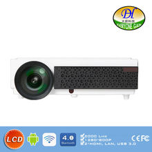 DH-TL98W Android Wifi 3D LCD Projector Video Karaoke data show Support 1080P Projector bluetooth Beamer