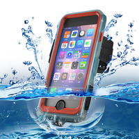 BuzzLee Luxury Dirt Shock Waterproof Sports Running Phone Bags Case Coque With Arm Band for iphone X Xs 8 7 6s Plus cover Pouch