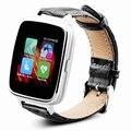 Свободный корабль A28 Bluetooth Монитор Сердечного ритма Smart Watch MT2502A BT4.0 С Подлинной Кожаный Ремешок Для iOS Android Смартфонов