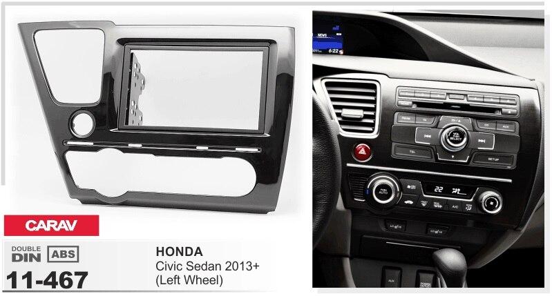 Frame android 6 0 font b car b font dvd for HONDA CIVIC SEDAN 2013 LEFT