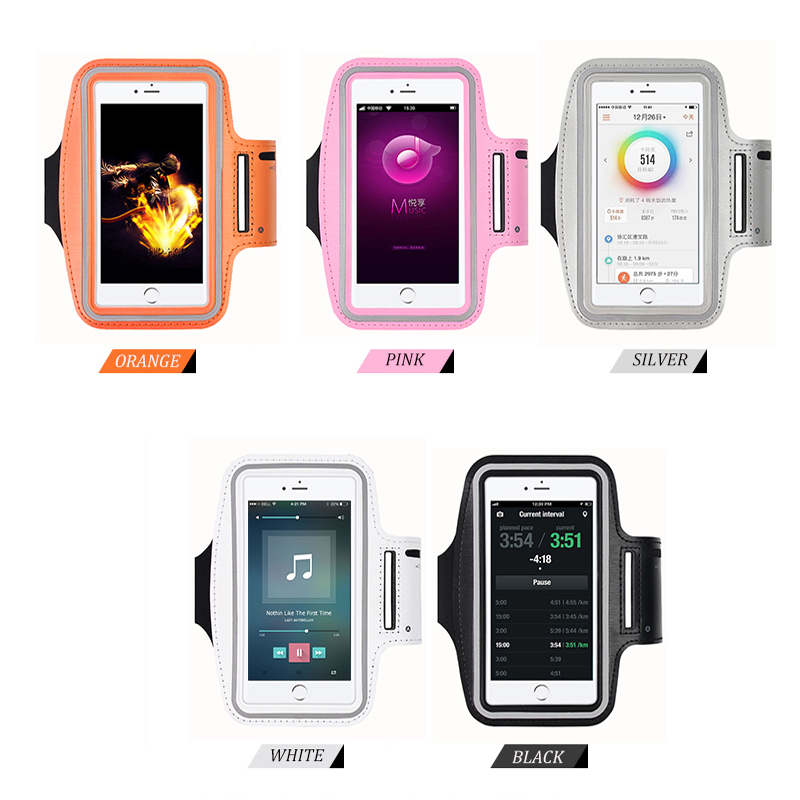 Workout Armband Bag Case Full Cover Case 5.5 Inch For Iphone 7 7Plus 6 6S 6plus ArmBand Universal Waterproof Sport Running