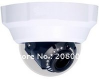 Dome IP Camera, CMOS megapixel IP Camera,Free shipping(not including remote areas)