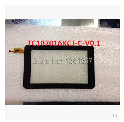 Новый 7 дюймов ozing N707 tablet емкостный сенсорный экран TC107016XCJ-С-V0.1 плата доставка