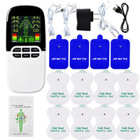 Multi Functional Dual Output Muscle Stimulator Tens Acupuncture Physiotherapy Massage Machine EMS Abs Massager Health Fat