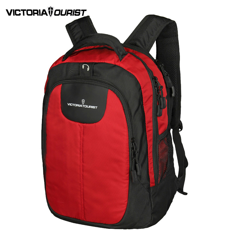 VICTORIATOURIST 15 inch laptop backpack men/ lovers backpacks/computer back pack women/ V8002 red+black victoriatourist men 15 inch laptop backpack ol back pack nylon waterproof and wearproof backpacks v6018 classic black