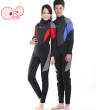 Skilled 3mm Safety One-piece Swimwear Snorkeling Swimsuit Swimming Swimsuit Tight – Becoming Water Sport Wetsuits Diving Swimsuit