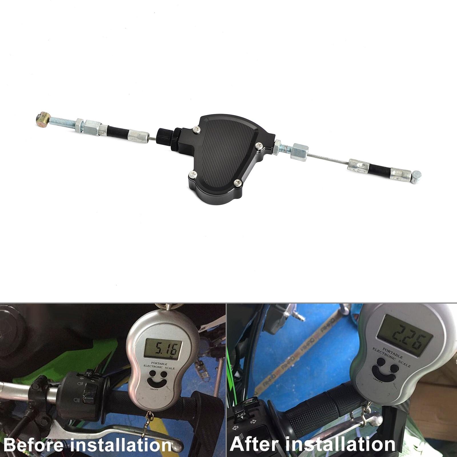 Sistema de cable de tracción fácil de la motocicleta Stunt Clutch - Accesorios y repuestos para motocicletas - foto 2