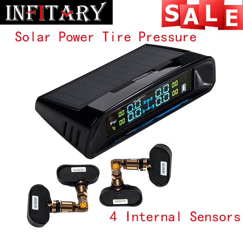 TN400 Wireless tire pressure monitoring tpms system monitor 4 internal sensors For renault peugeot toyota and all car free ship