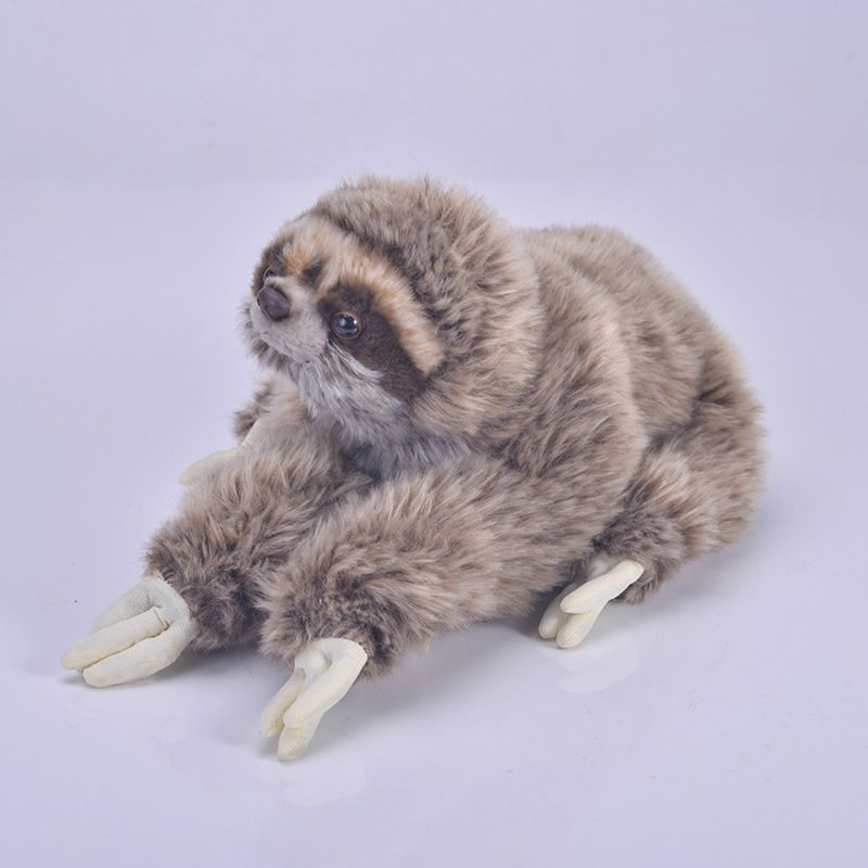 35 cm Premium Three Toed Sloth Real Life Plush Stuffed Animal Folivora Toy Gifts for Kids.35 cm Premium Three Toed Sloth Real Life Plush Stuffed Animal Folivora Toy Gifts for Kids.