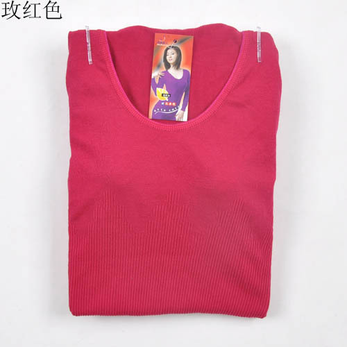 (Min.order $25)(Mix order)*2012 new winter Qiuyi Qiuku modal elastic round neck thermal underwear sets wholesale ladies
