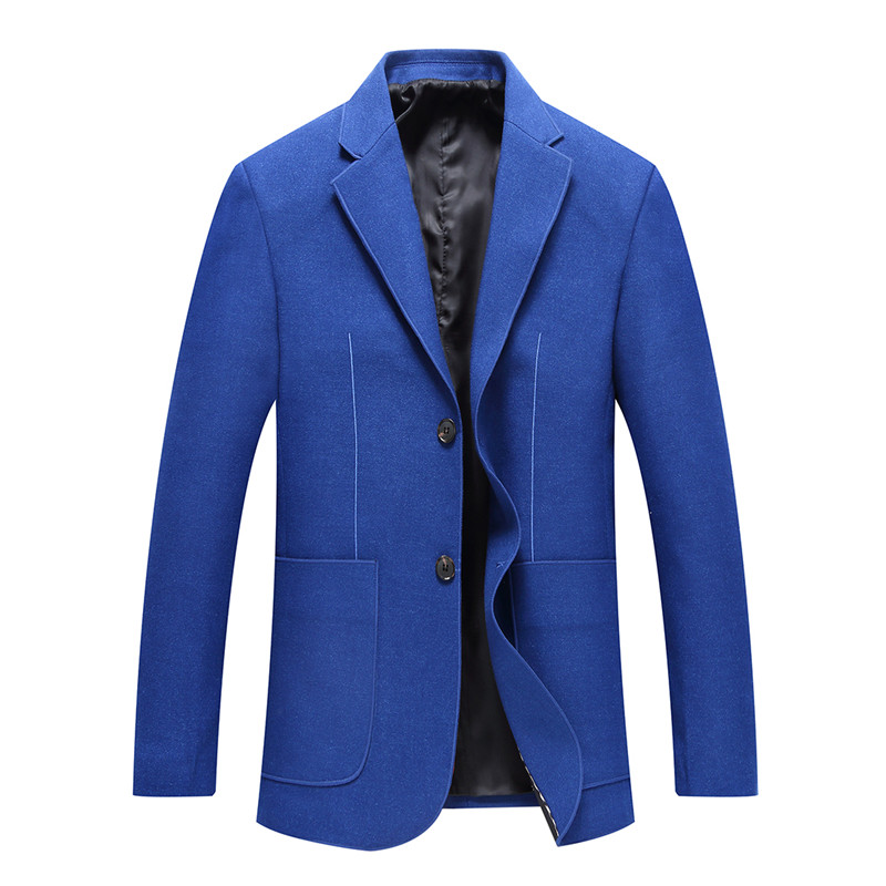 2019 New Style Men's Casual Fashion High Quality Suit Jacket Blazer Men Slim Fit Jacket Men's Flannel Custom Blazer Hombre
