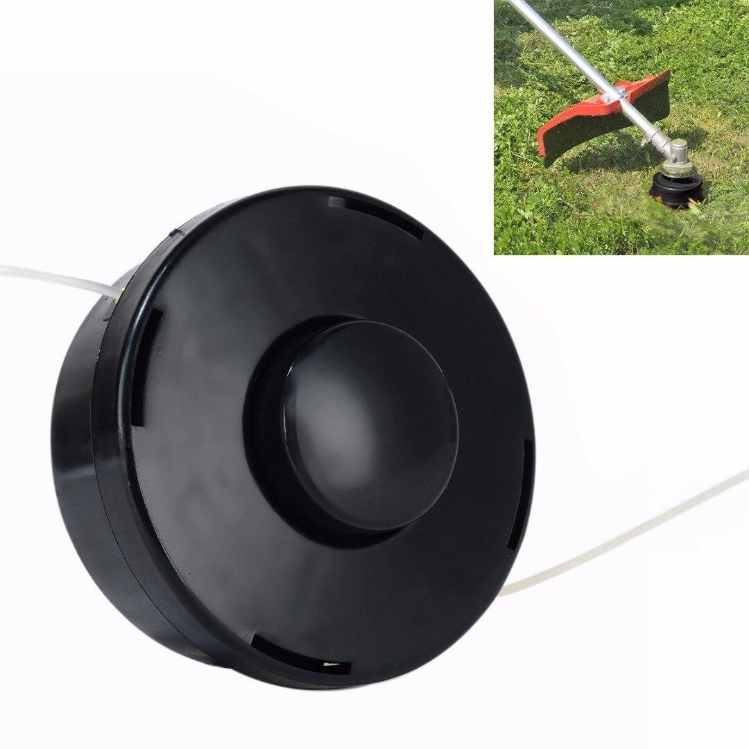 FGHGF Trimmer Head Petrol Strimmer Bump Feed Line Spool Brush Cutter Grass Black Garden Tools