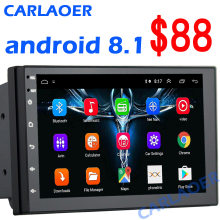 Android 8,1 2 Din Auto radio Multimedia Video Player Universal auto Stereo GPS KARTE Für Volkswagen Nissan Hyundai Kia toyota CR-V(China)