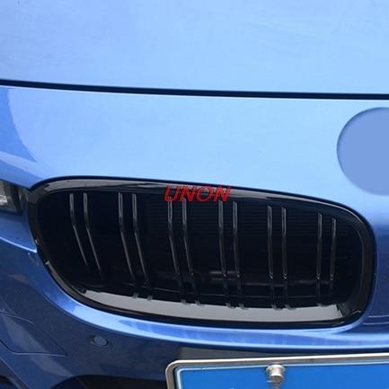 Pour BMW série 3 F30 F35 4 portes Grille avant Grille rein 2012 2013 2014 2015 2016 noir brillant 4D peint pièces de voiture Automobile