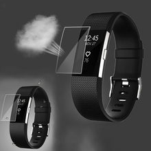 OOTDTY HD TPU Screen Protector For Fitbit Charge 2 Band Youth Smart Watch Ultra Thin ollivan hd protective film for fitbit charge 2 charge2 band anti scratch tpu screen protectors bracelet screen clear ultra thin