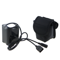 8 4V 20000mAh 26650 USB DC Port Bicycle Light Power 4x26650 Battery Pack With Screw Thread