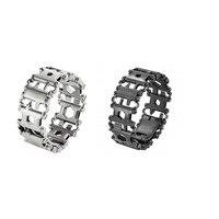2018 Wearable Stainless Steel Tool Bracelet Multifunctional Screwdriver Metal Bracelet Tool