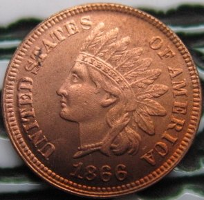 wholesale Replica 1866 Indian head cents coin copy 100% coper manufacturing