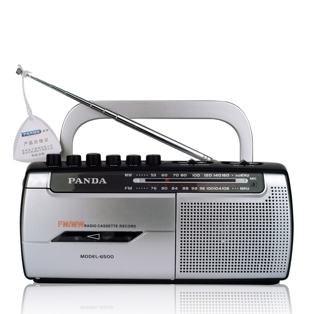 PANDA 6500 FM Radio Tape Recording Learning English is simple to operate Recorder