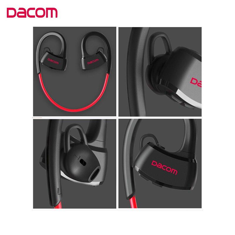 Image 2 - DACOM P10 sportowe słuchawki bluetooth IPX7 wodoodporne bezprzewodowe słuchawki Stereo zestaw słuchawkowy z mikrofonemSłuchawki douszne i nauszne BluetoothElektronika użytkowa -