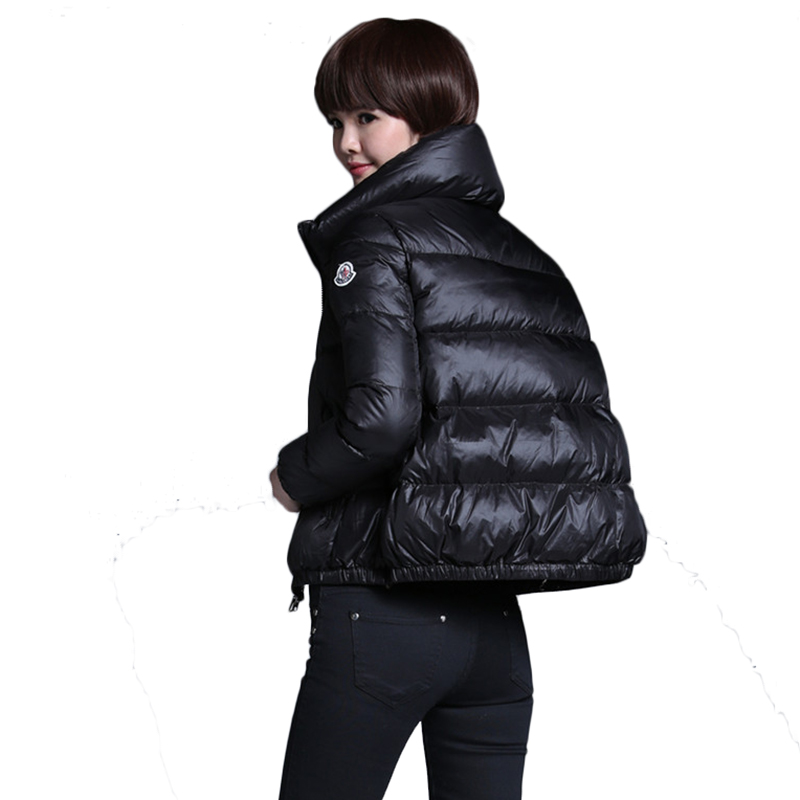Wholesale High Quality Women 95% White Duck   Down     Coats   Winter Women Short Jackets White Duck   Down     Coats   Women Jackets Outwear