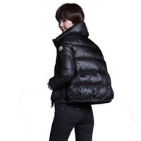 Wholesale High Quality Women 95% White Duck Down Coats Winter Women Short Jackets White Duck Down Coats Women Jackets Outwear