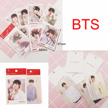 2018 New KPOP BTS Love Yourself Answer Album Jin V Paper Photo Cards Photocard 7pcs/set(China)