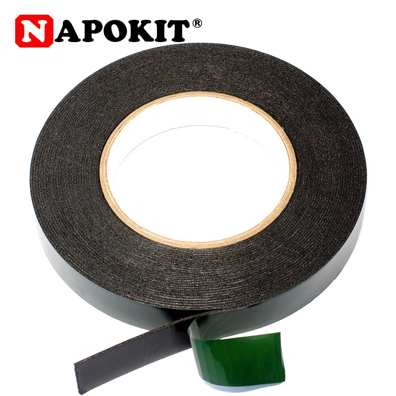 20mm Width 10m Length 1mm Thickness Double Sided Tape Adhesive Tape PE Car Glue Sticker Multi-function Car Styling Accessary