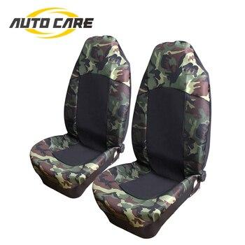 Kamuflase Kursi Mobil Penutup Universal Cocok untuk Sebagian Besar Kualitas Tinggi 2 Buah Laut Cover Interior Aksesoris Auto Care Dekorasi Mobil Styling