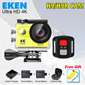 Eken H9R Action camera Ultra HD 4 K Video Sports Camera 170 degree Wide Angle 2.0 inch 1080p pro cam wifi 2Batteries+Charger+Bag