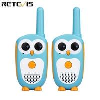 מכשיר הקשר 2pcs Retevis RT30 מיני מכשיר הקשר Kids רדיו תחנת 0.5W PMR FRS UHF רדיו 1 ערוץ 2 הכפתור הפשוטה לפעול במשך צעצוע לילדים (1)