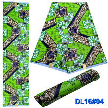 LIULANZHI african fabric wax print clothes patchwork 2018 arrival new design 6yards/piece 13L234-13L249