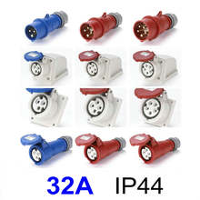 32a ip44 Водонепроницаемый Электрический Промышленный разъем