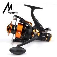 Meredith 4BB 8KG 5 2 1 Double Drag CNC Aluminum Handle Metal Spinning Reels Fishing Reels