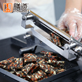 Thuis 400 rvs snijmachine Authentieke groentesnijder Rundvlees Schapenvlees Hot Pot Vlees slicer