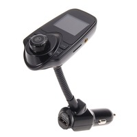 Handsfree FM Transmitter Car Kit MP3 Bluetooth Music Player LCD Display USB TF Remoto For IPhone