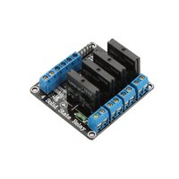 5v 4 Channel SSR Solid State Relay Module Omron G3mb-202p for Arduino