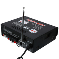 220V 600W Amplifiers Audio Bluetooth Amplifier Subwoofer Amplifier Home Theater Sound System Mini Amplifier with Remote Control