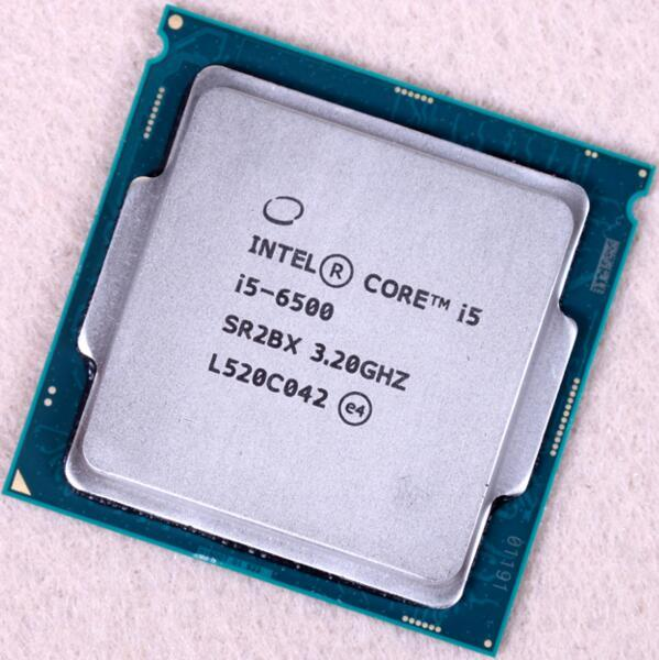 Новый Оригинальный Процессор Intel Core i5 6500 14nm Quad Core 3.2 ГГц LGA 1151 Кэш TDP 65 Вт 6 МБ Рабочего ПРОЦЕССОРА