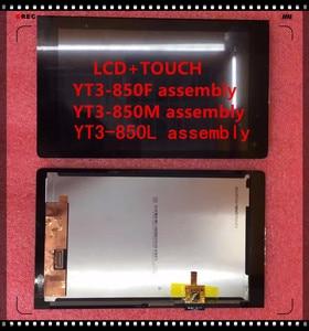 Image 1 - جديد 8.0 بوصة لينوفو اليوغا تبويب 2 YT3 850L YT3 850F YT3 850M تعمل باللمس شاشة عرض LCD الداخلية والخارجية الجمعية
